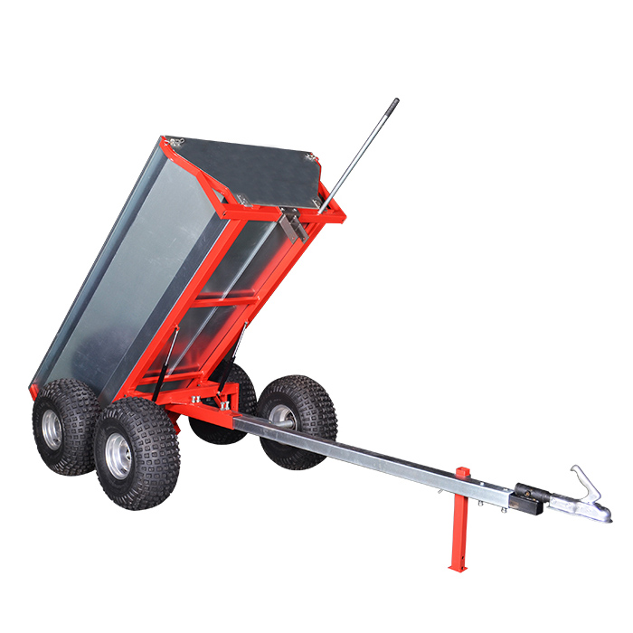 heavy duty atv dump trailer