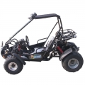 2 seater Racing Buggy con inversa 150cc nero