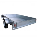 5 x 8 zincato Box Trailer
