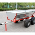 Heavy Duty Dump Trailer per ATV