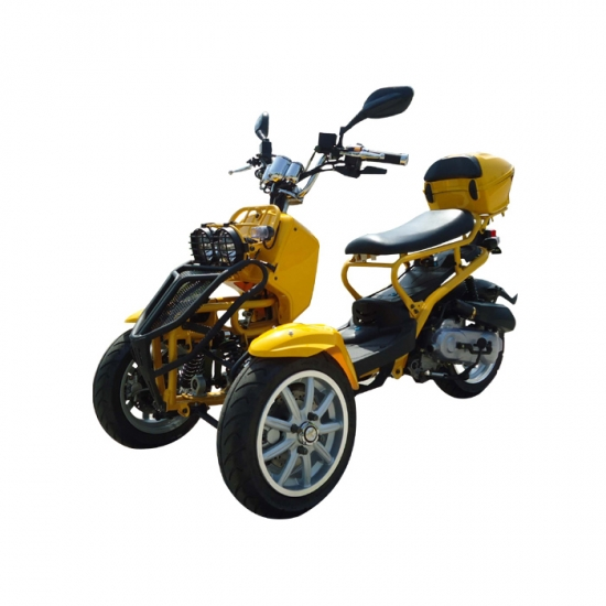 50cc gas trike motociclo delle tre rotelle. Black Bedroom Furniture Sets. Home Design Ideas