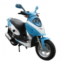EPA adulto Street Scooter ciclomotore 50cc commercio all'ingrosso blu