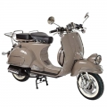 Scooter d'epoca adulto tipo Vespa 125cc Brown